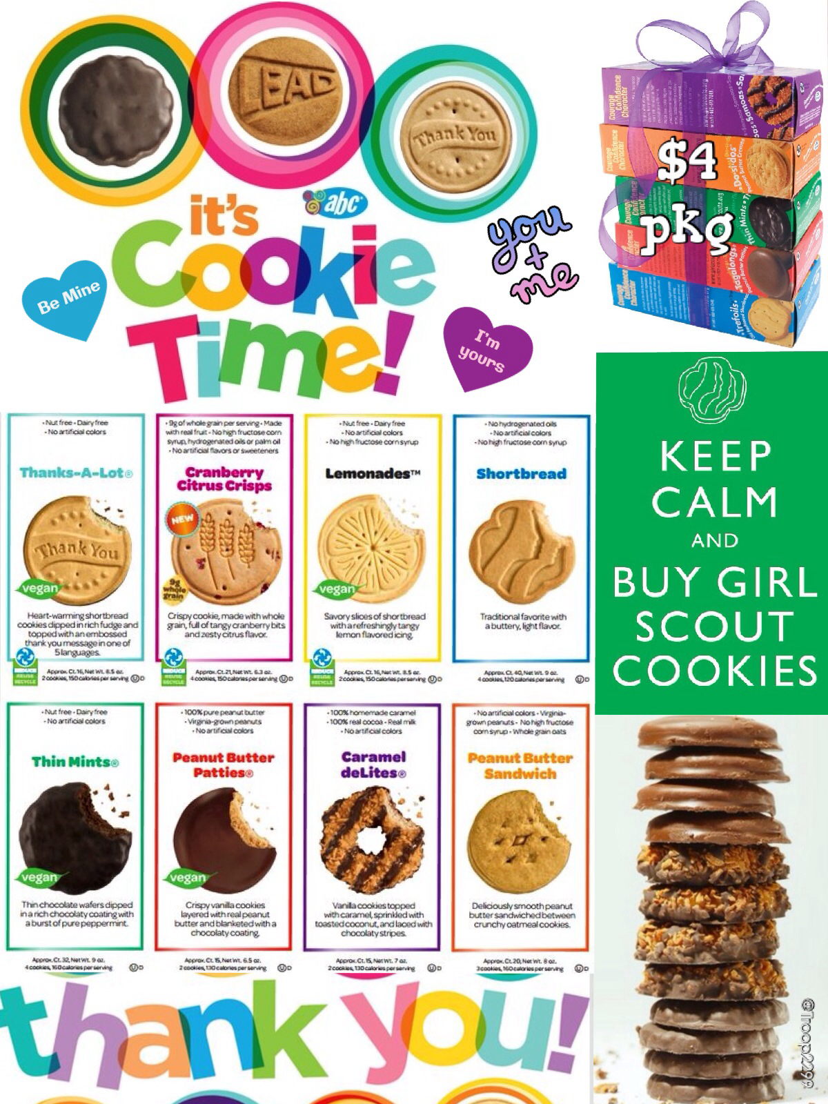 2014 Girl Scout Online Cookie Order Form   I Made This For My Daisy