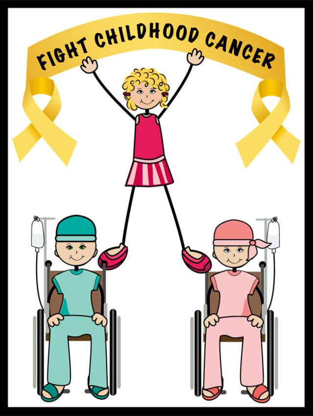 Clip Art To Help Fight Childhood Cancer     Dixie Allan
