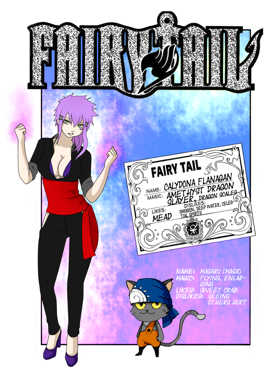 Fairy Tail Dragon Slayers Oc