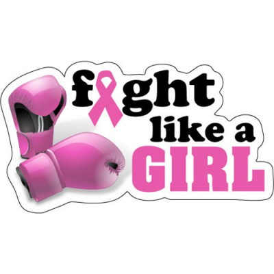 Fight Like A Girl Clipart Fight Like A Girl Sticker
