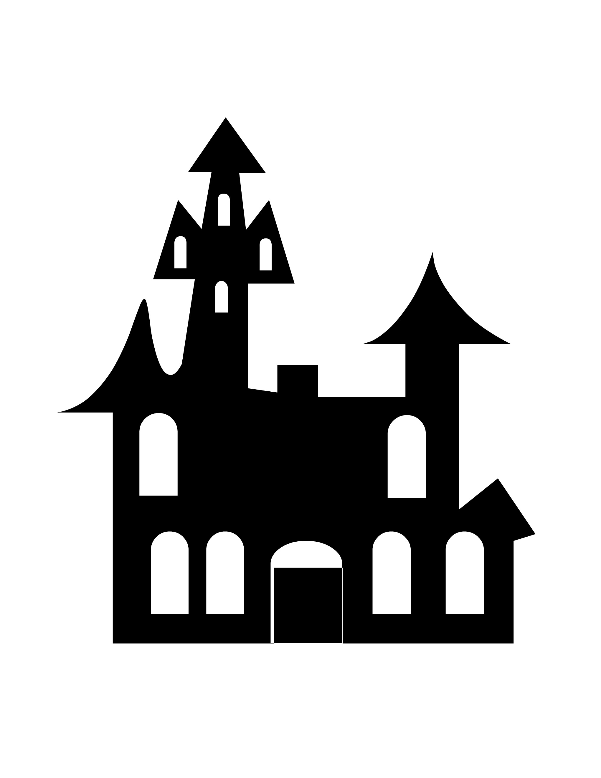 House Silhouette   Clipart Best