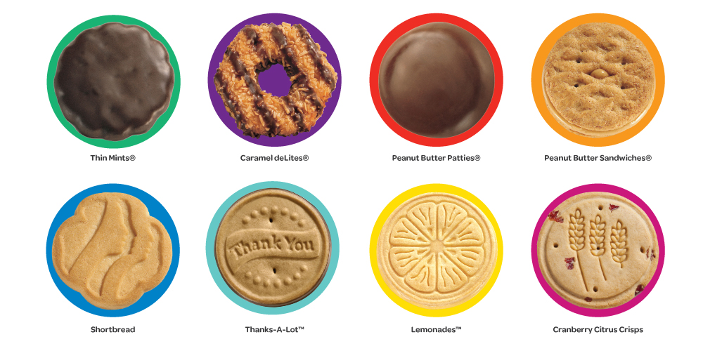 National Girl Scout Cookie Weekend Is February 27   March 1   Girl