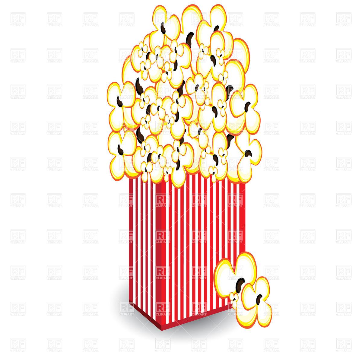 Popcorn Picture 2 Clipart - Clipart Kid