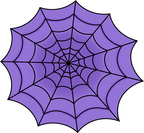 Purple Spider Web Clip Art   Purple Spider Web Image