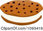 Royalty Free  Rf  Ice Cream Cookie Sandwich Clipart Illustrations