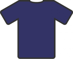 Share Blue T Shirt Clipart With You Friends