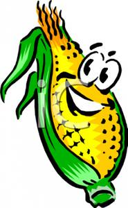 Funny Corn Clipart - Clipart Kid