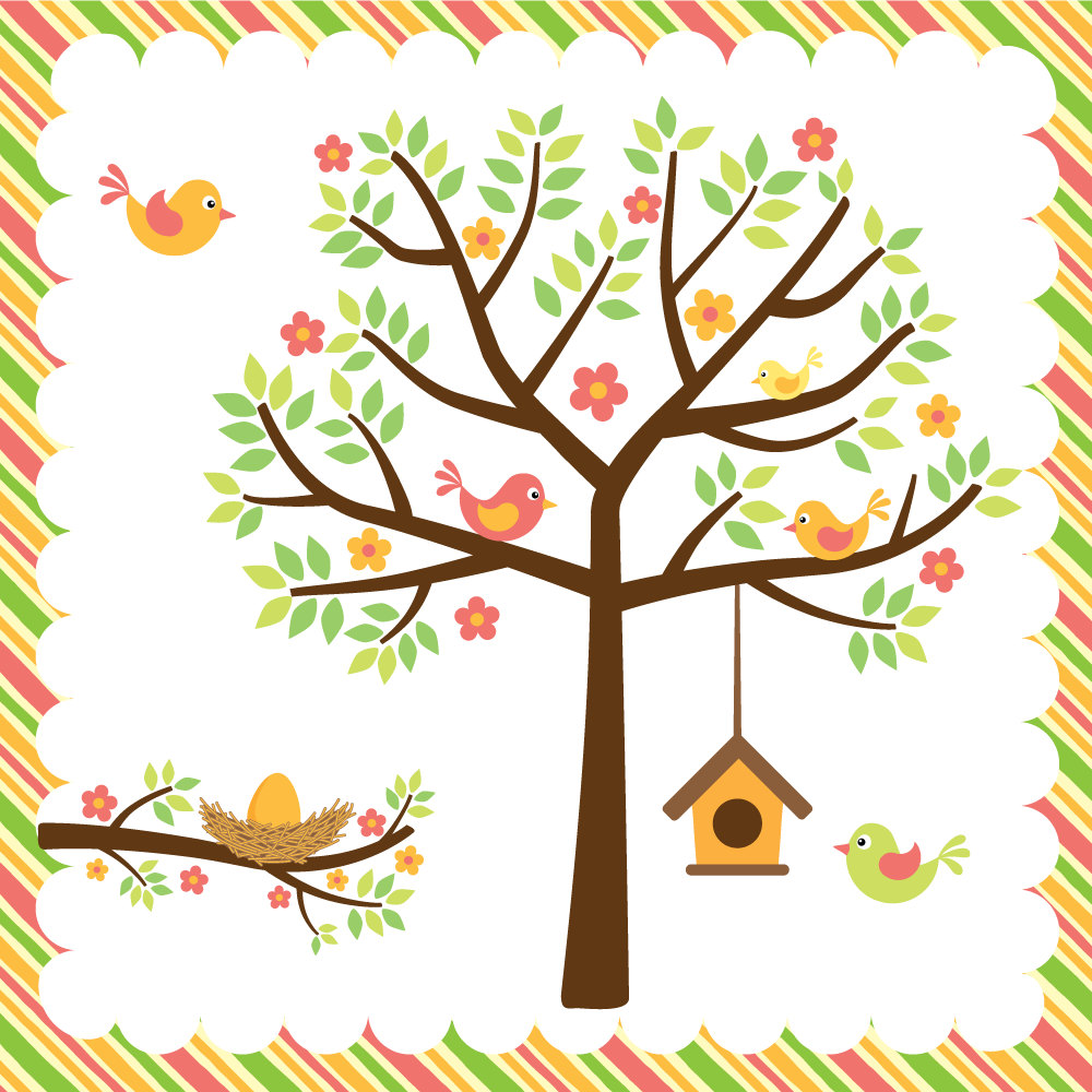 Spring Tree Free Cliparts