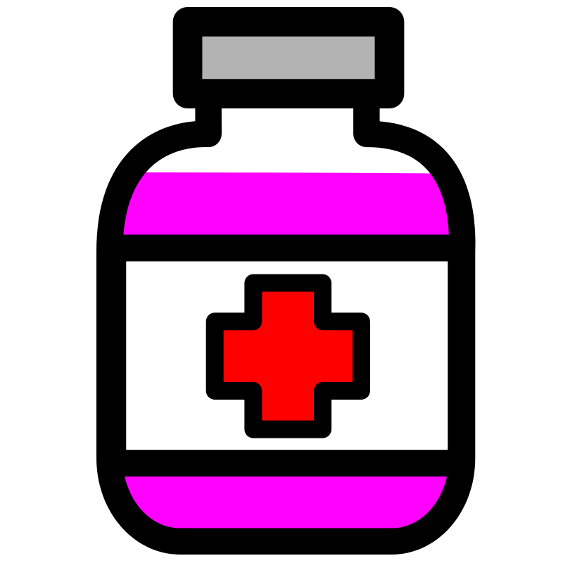 Medication Bottle Clipart - Clipart Kid