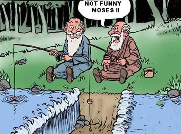 Funny Moses Funny Christian Cartoon Picture Quote