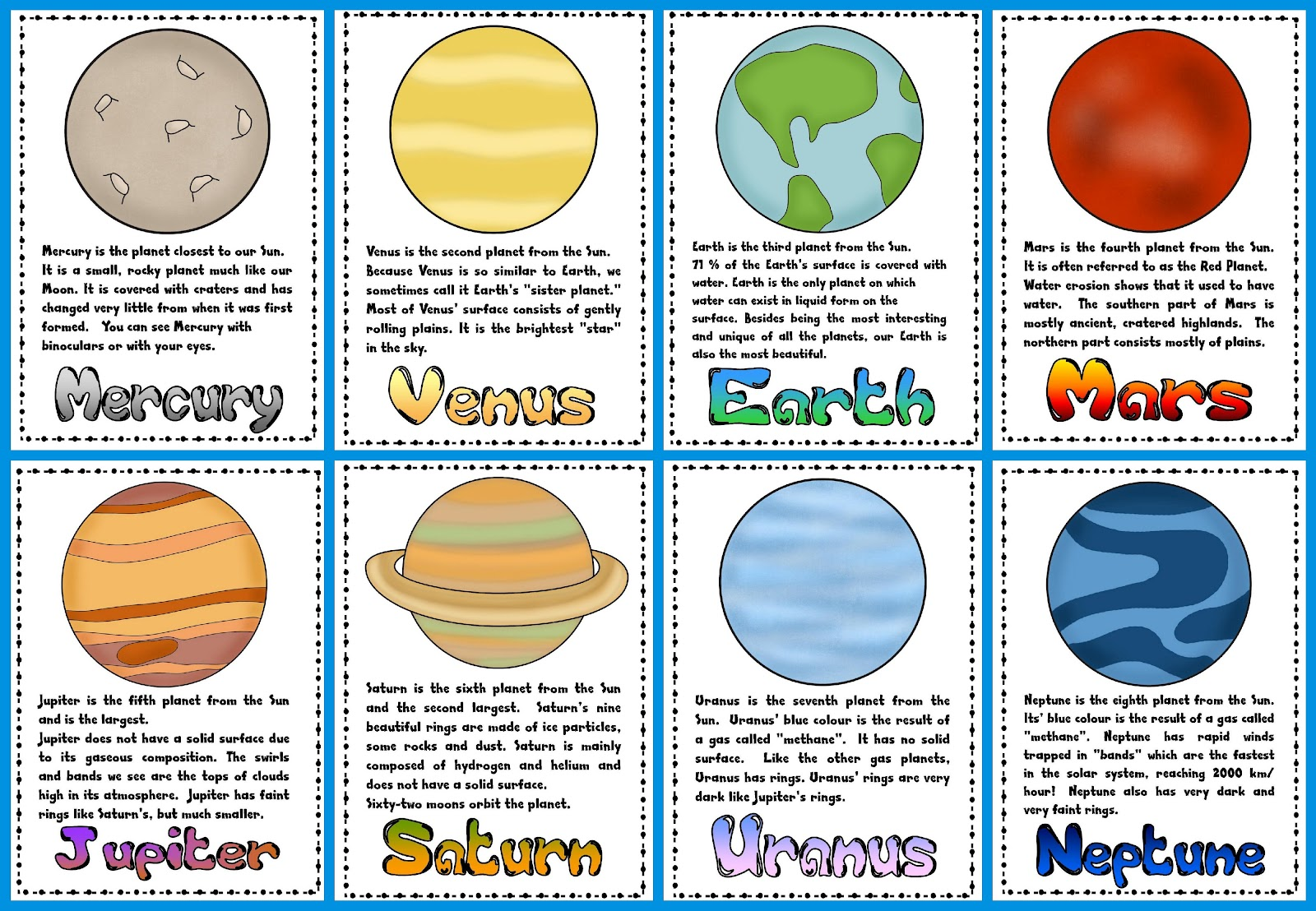 Clip Art Planets Clipart the 9 planets clipart kid teacher s toolkit time off work and planets