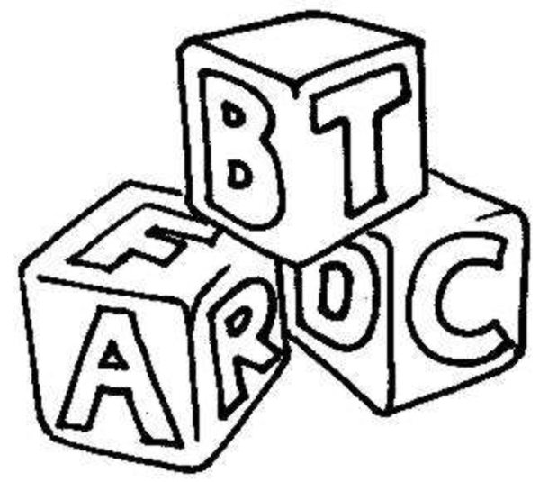 Abc Building Blocks Clipart - Clipart Suggest