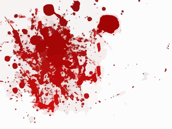 Blood Scarlet Red Splash Clip Art At Clker Com   Vector Clip Art