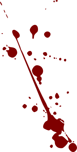 Blood Splatter Clip Art At Clker Com   Vector Clip Art Online Royalty