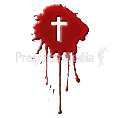 Blood With Cross   Presentation Clipart   Great Clipart For