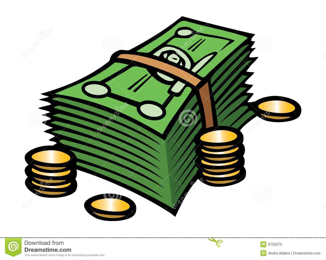 Cartoon Money Clipart - Clipart Kid