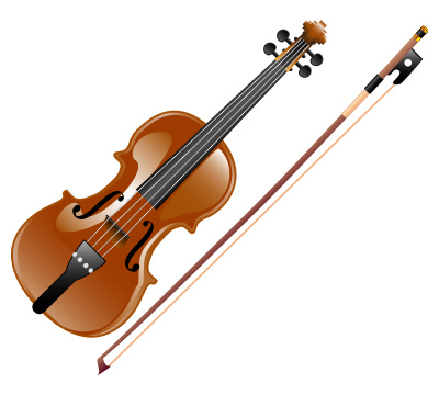 Classical Violin Clipart Vector Graphic   Just Free Image Download
