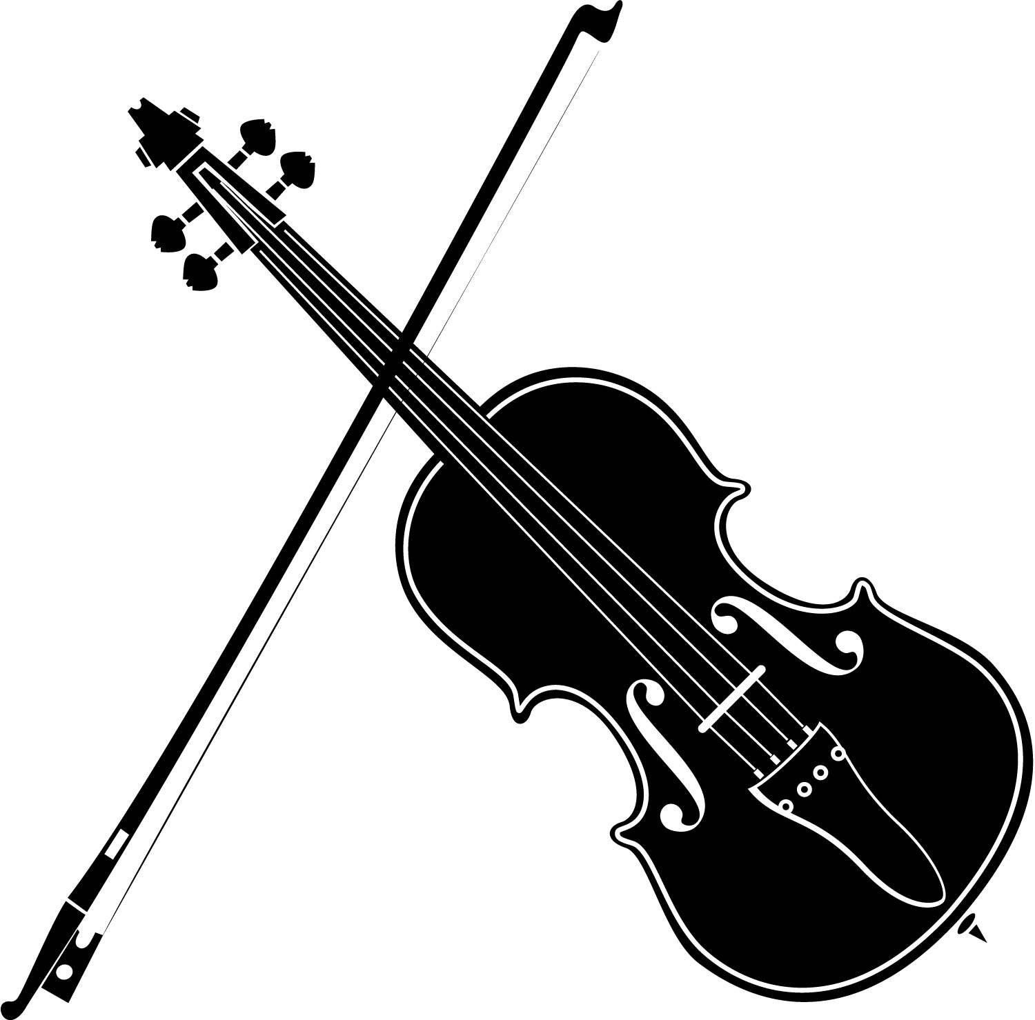 Clip Art Violin   Viewing