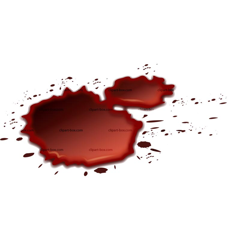 Clipart Blood Spills   Royalty Free Vector Design