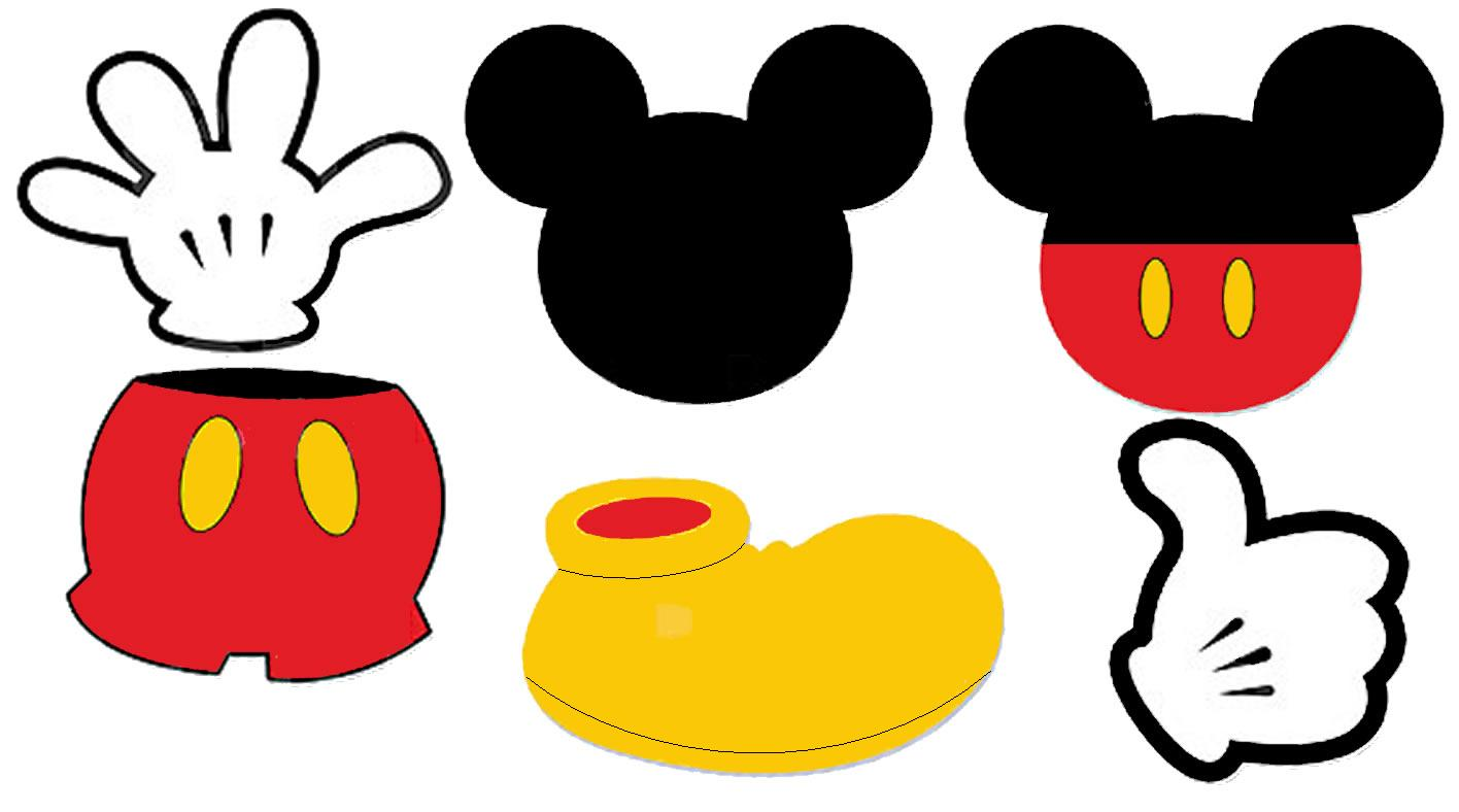 Clipart Minnie Mouse Head Clip Art Mickey Mouse Clipart Border Clipart