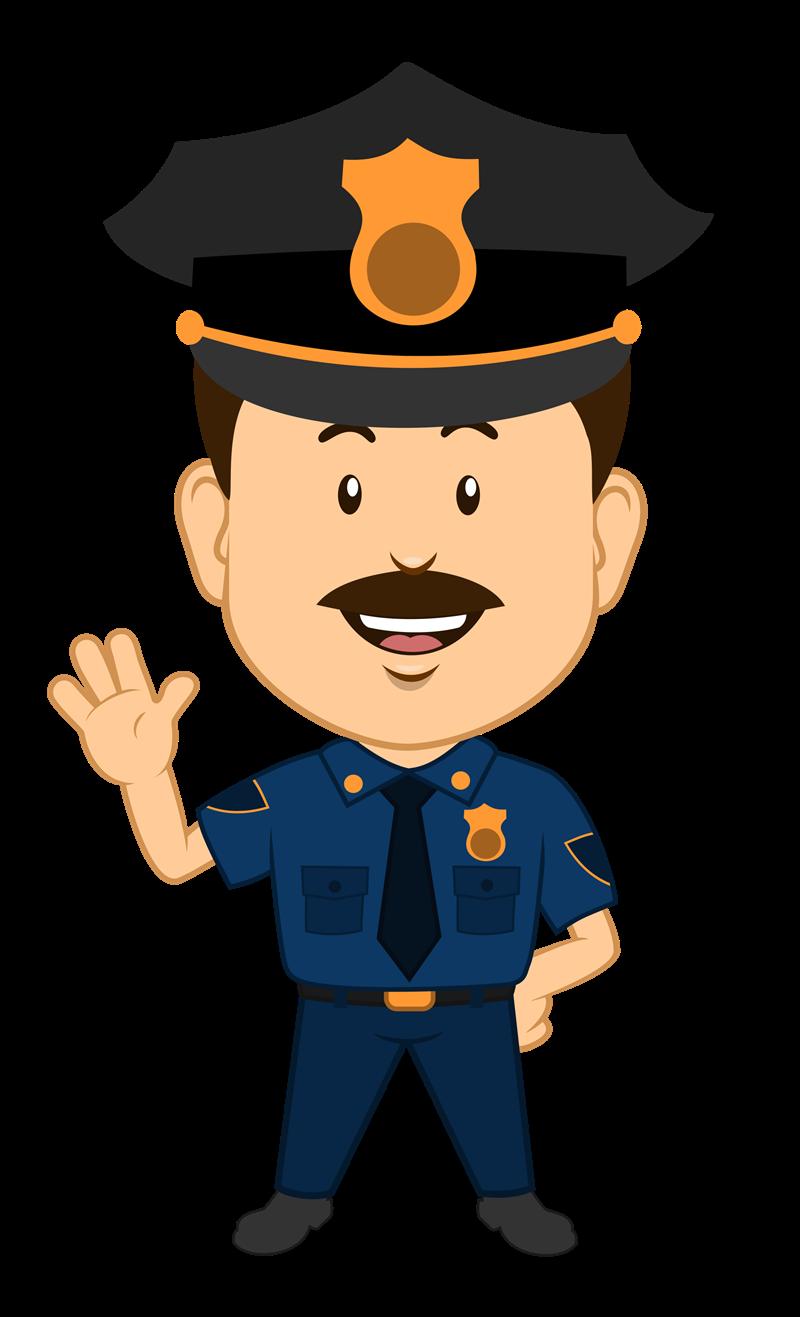 Cop Clipart - Clipart Kid