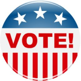 Election Clip Art  Vote Button
