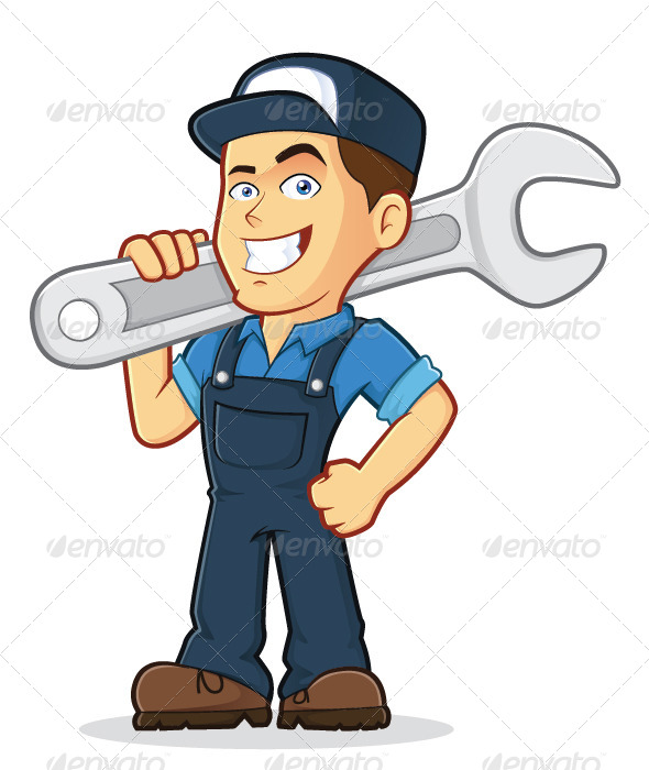 free clipart maintenance worker - photo #45