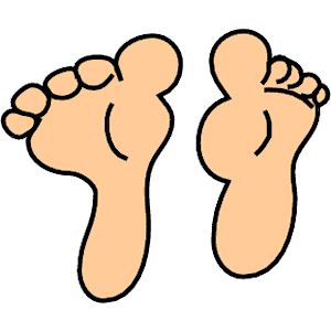 Clip Art Clip Art Feet feet and toes clipart kid 8 cliparts of free download wmf eps emf svg