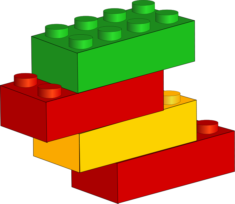 Lego Blocks Clipart - Clipart Kid