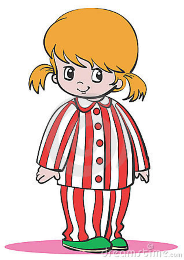 Clip Art Pajama Day Clip Art pajama day clipart kid girl pajamas 12709327 jpg