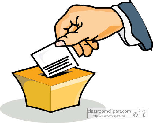 free clipart vote yes - photo #44