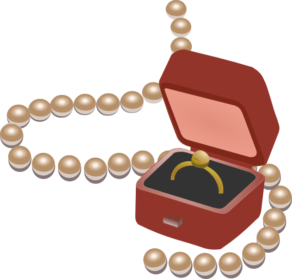 Jewellery Box Clip Art At Clker Com   Vector Clip Art Online Royalty