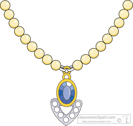 Jewelry   Jewelry Necklace 1013   Classroom Clipart
