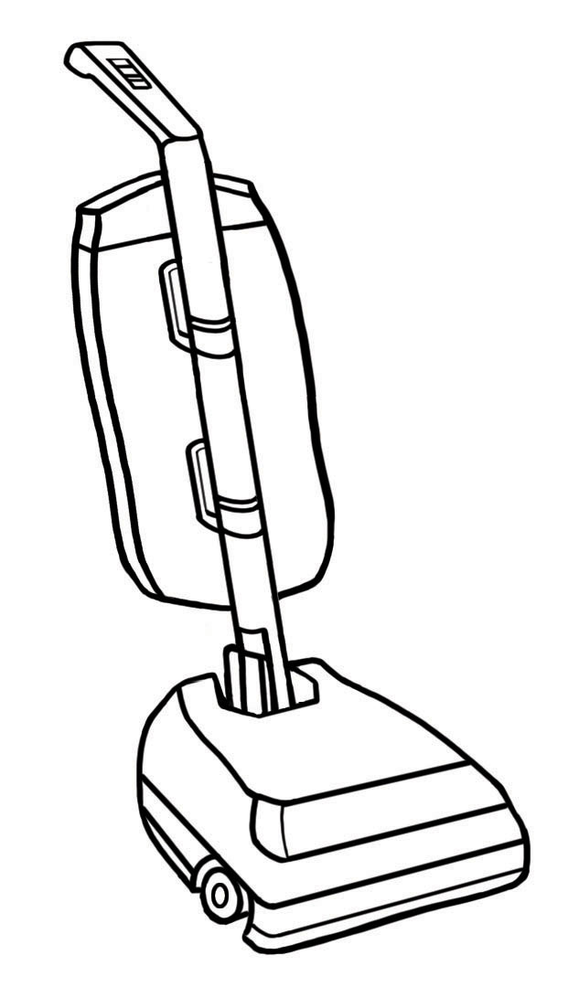 Vacuum Cute Clipart - Clipart Suggest Vacuum Clipart Black And White