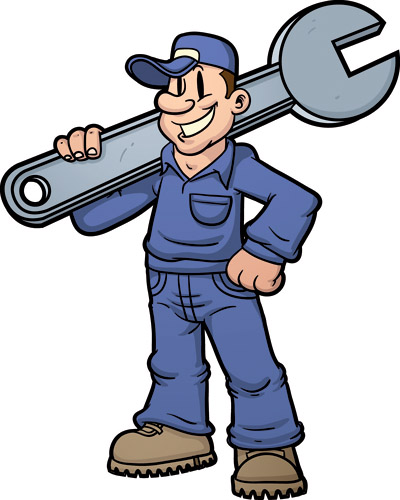 Maintenance Man Clipart Free Vector Vector Maintenance