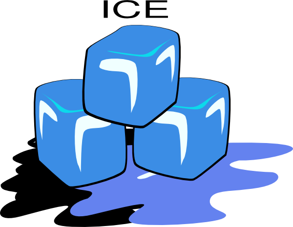 Melting Ice Clip Art At Clker Com   Vector Clip Art Online Royalty