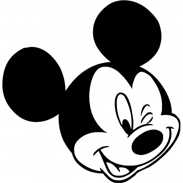 Mickey Mouse Clip Art Decal
