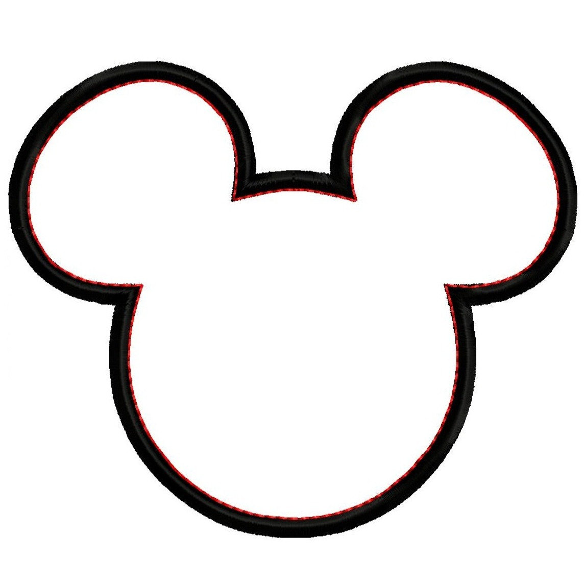 Mickey Mouse Head Silhouette Clipart Panda Free Clipart Images