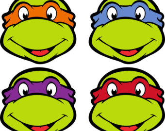 Clip Art Ninja Turtles Clip Art ninja turtles clipart kid turtle faces free cliparts that you can download to you