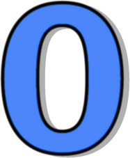 Number 0 Blue   Http   Www Wpclipart Com Signs Symbol Alphabets