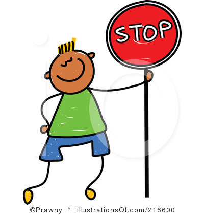 Stop Sign Clipart Royalty Free Stop Sign Clipart Illustration 216600