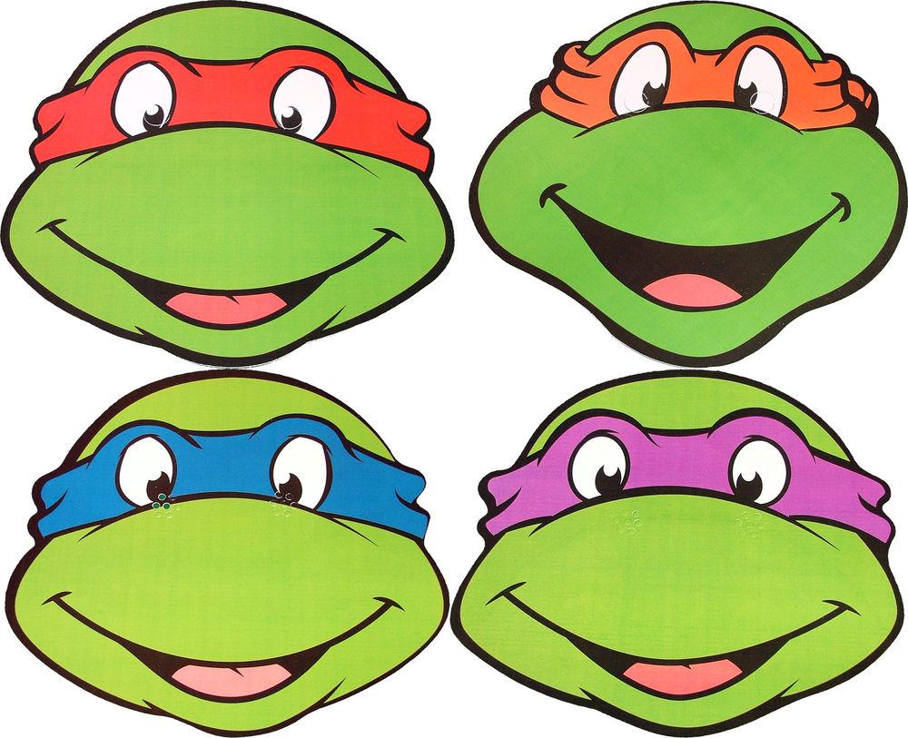 Clip Art Ninja Turtles Clip Art tmnt outline clipart kid teenage mutant ninja turtles faces clipart