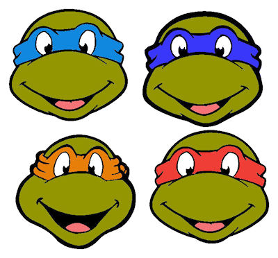 Clip Art Ninja Turtles