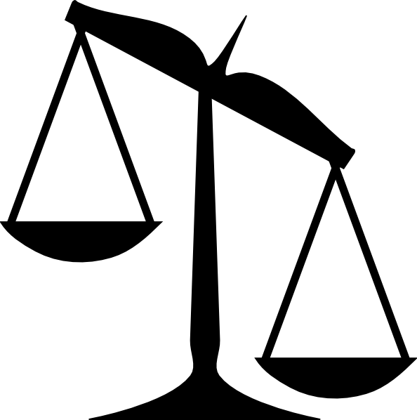 unbalanced scale clipart clipart suggest Unbalanced Scales of Justice Weight Scale Clip Art