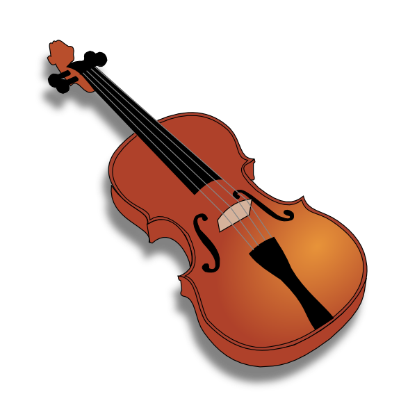 Cartoon Violin Clipart - Clipart Kid