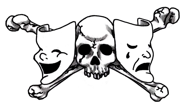 Drama Masks Clipart - Clipart Kid