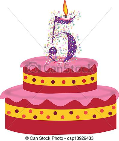 5th Birthday Clipart Image Gallery