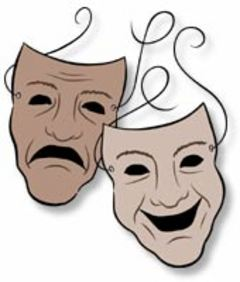 Acting Masks Clipart - Clipart Kid