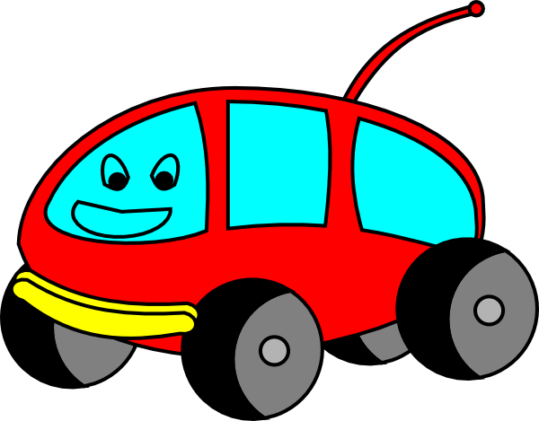 Cartoon Car Clip Art At Clker Com   Vector Clip Art Online Royalty