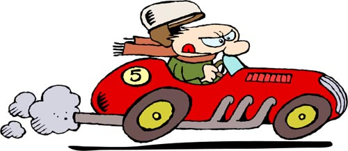 Cartoon Cars Clipart   Malaysiaminilover